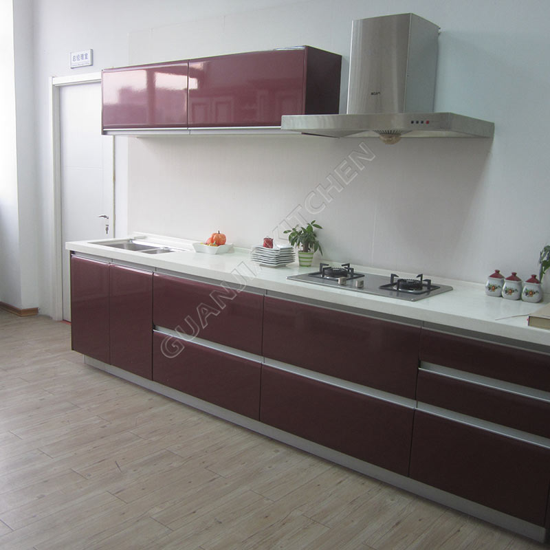 Red Lacquer Cabinets
