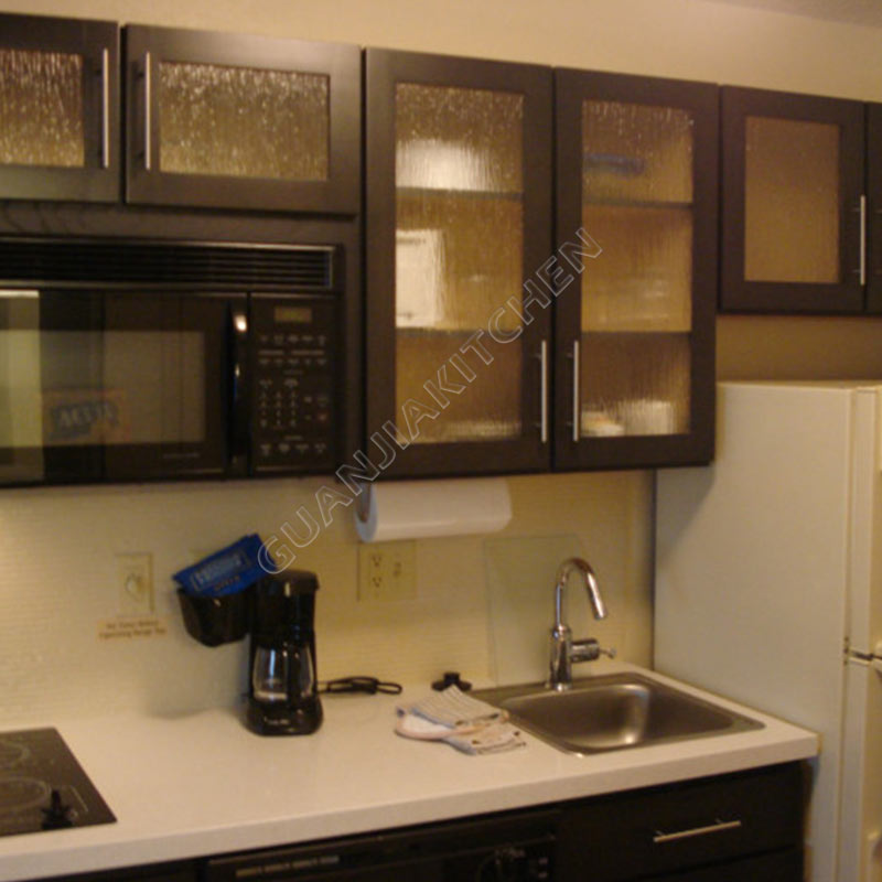 Solid Wood Kitchen Cabinets KC001
