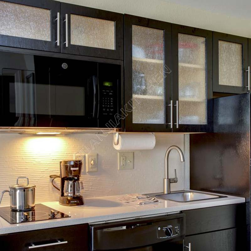 Solid Wood Kitchen Cabinets KC003