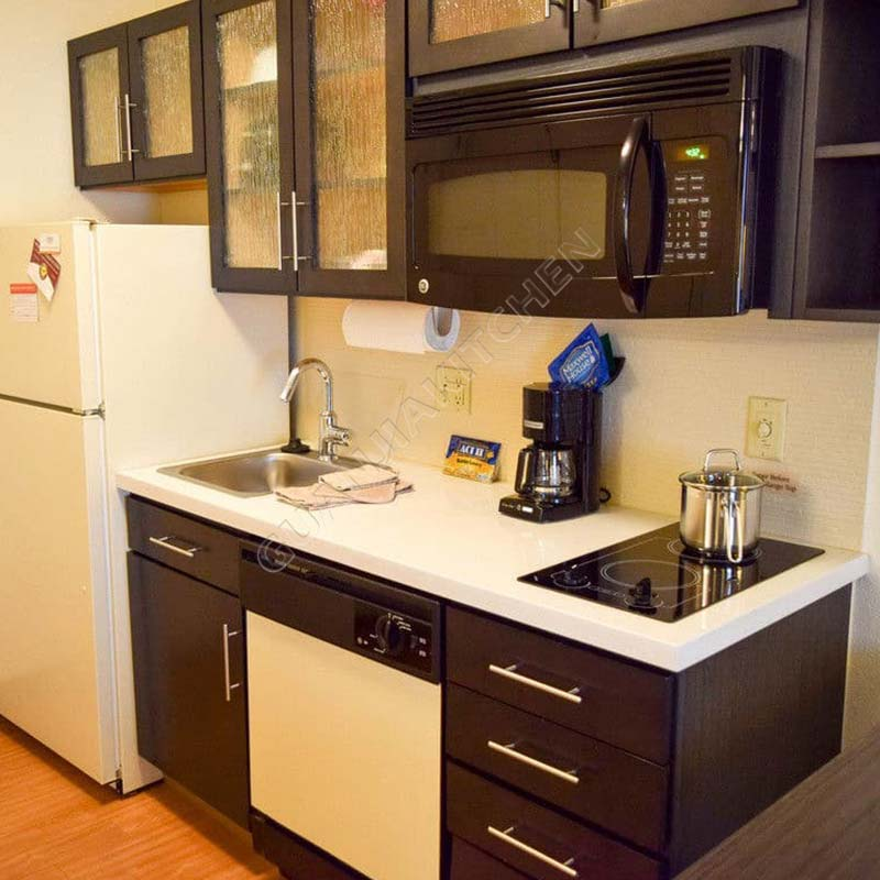 Solid Wood Kitchen Cabinets KC005