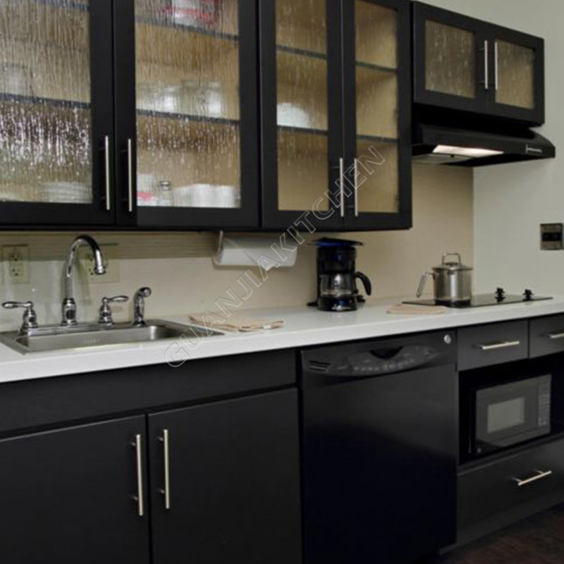 Solid Wood Kitchen Cabinets KC016