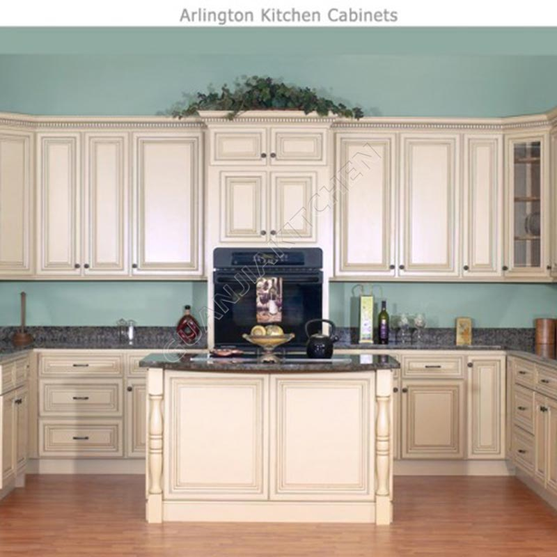 Solid Wood Kitchen Cabinets KC018