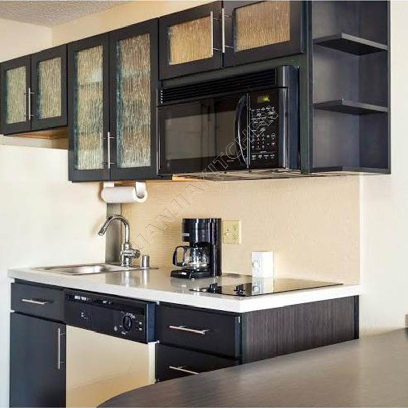 Solid Wood Kitchen Cabinets KC024