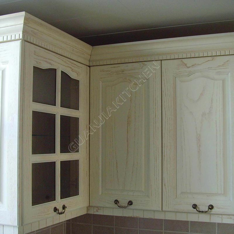 Solid Wood Kitchen Cabinets KC028