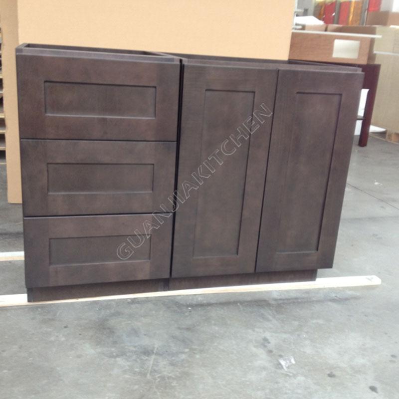 Hard Maple Shaker Bathroom Cabinets