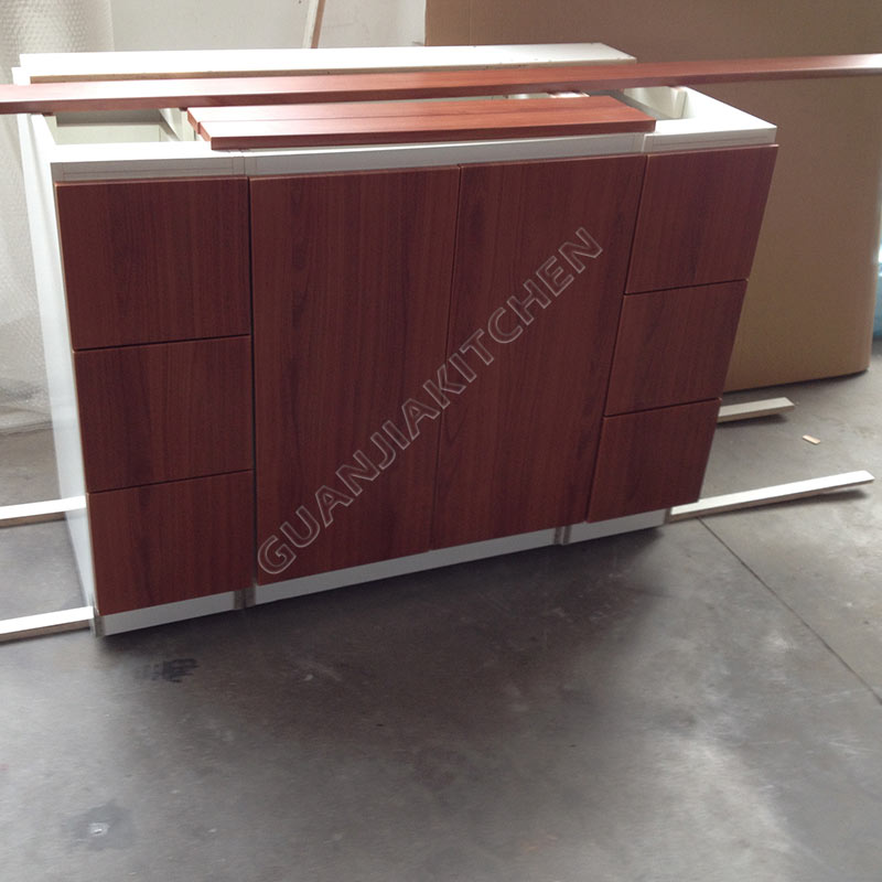 maple wood veneer bathroom cabinets