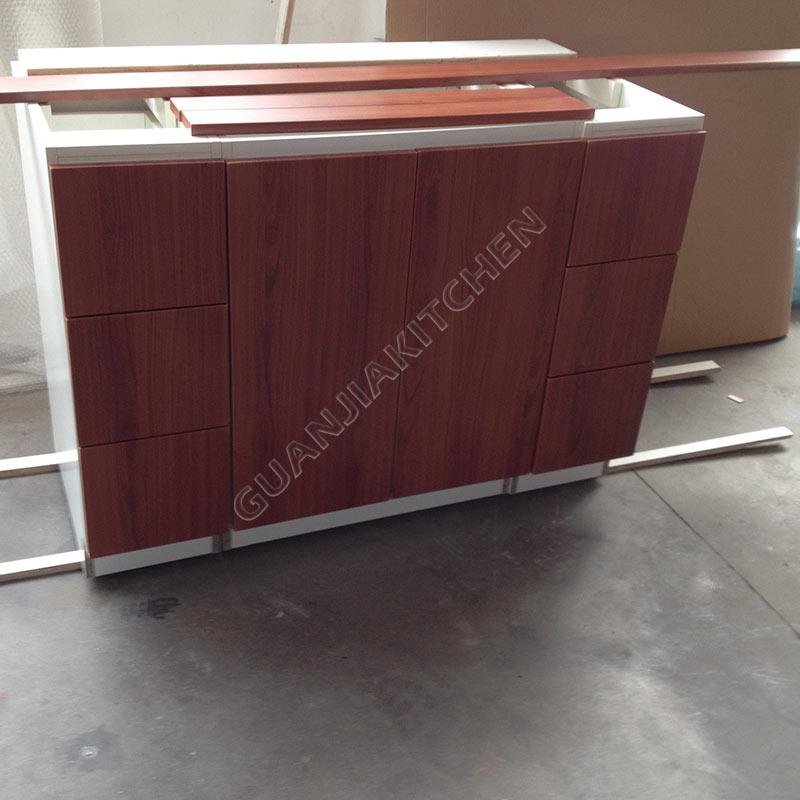 maple wood veneer bathroom cabinets