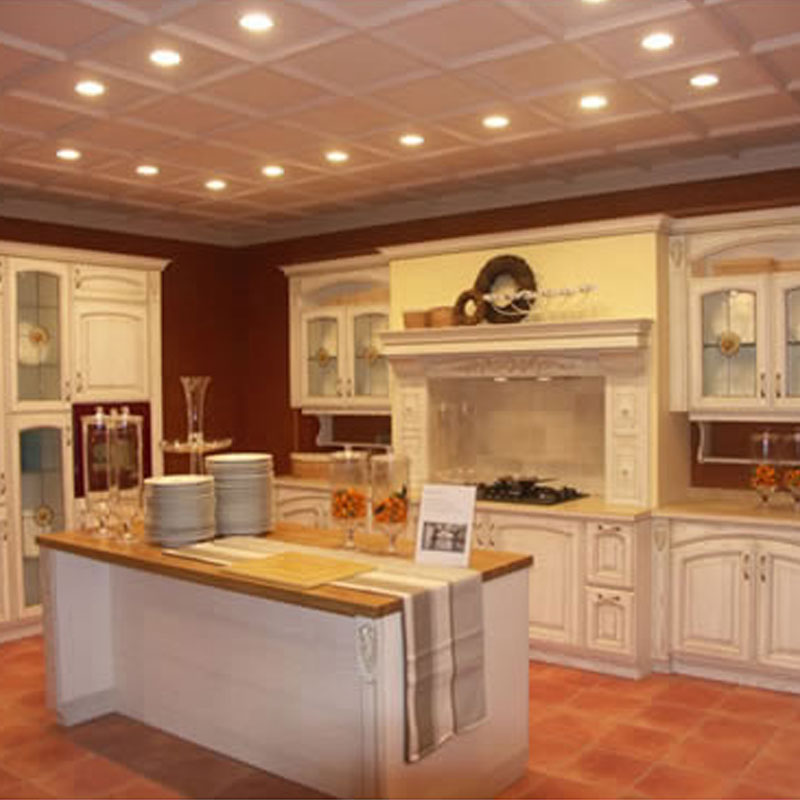 wooden kitchen cabinet KC101