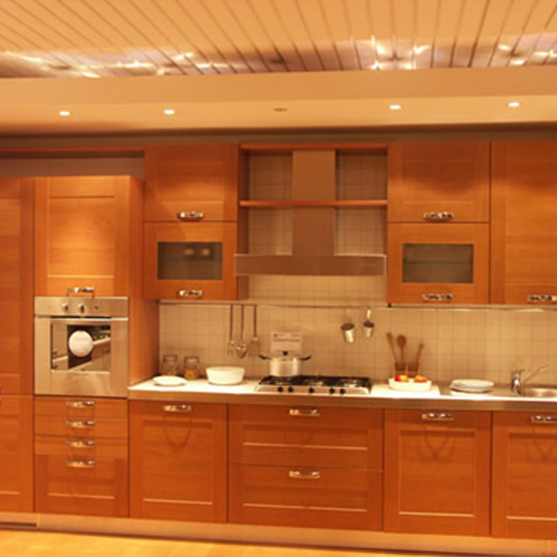 maple solid wood shaker style kitchen furnitures