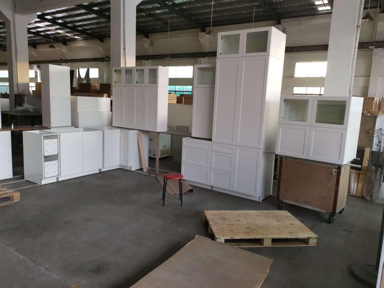 pvc shaker kitchen cabinets
