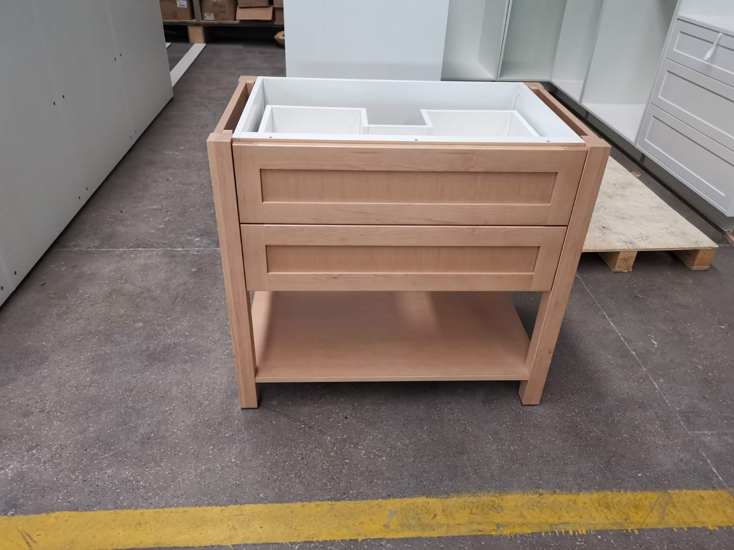 maple solid wood vanity cabinets