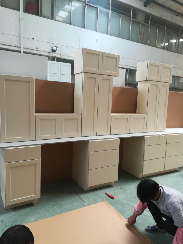maple shaker solid wood kitchen cupboard